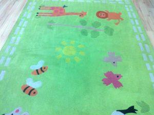 pranie dywanów w przedszkolu Waw