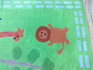pranie wykładzin w przedszkolu