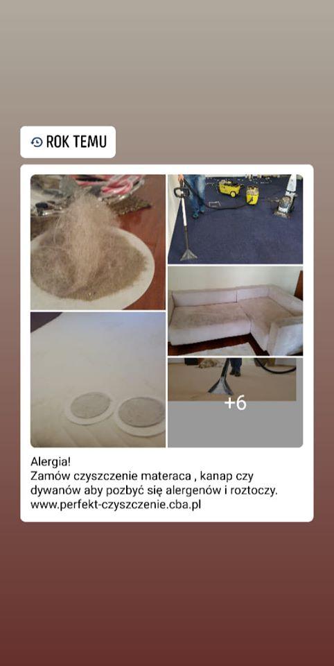 pranie antyalergiczne materacy łomianki