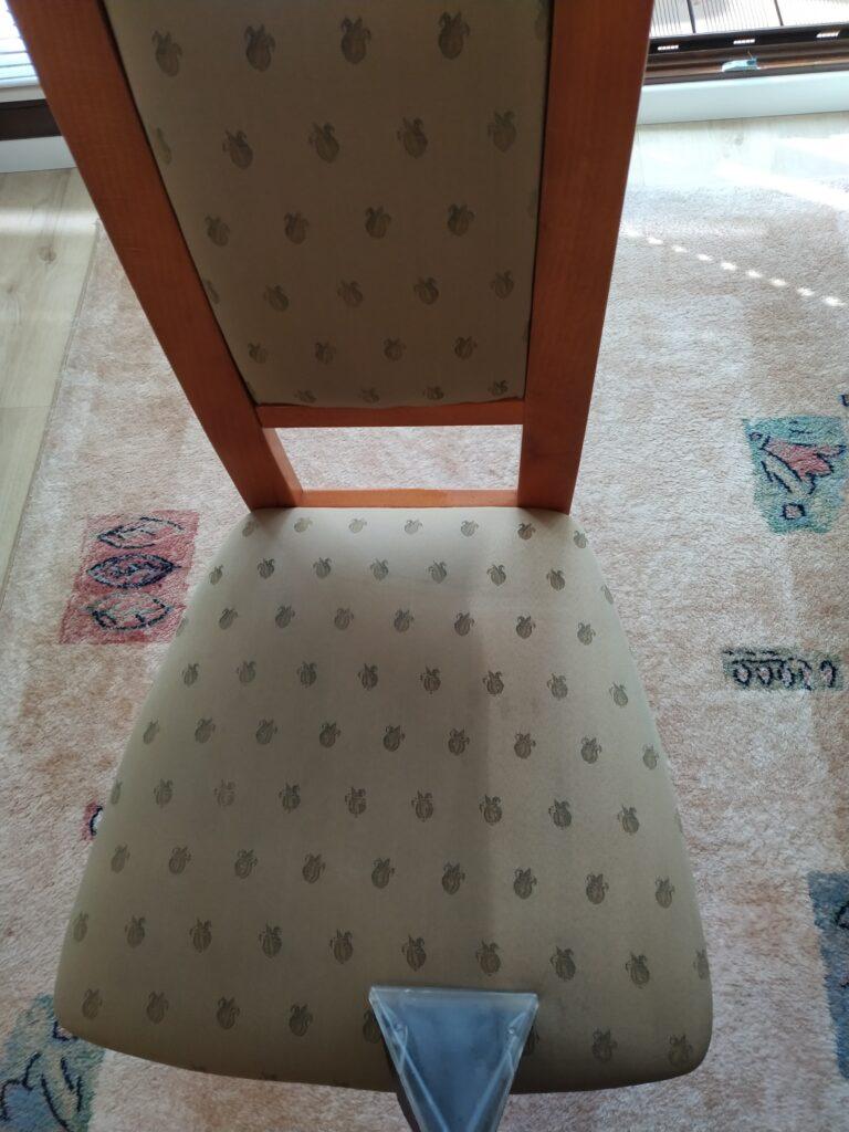 pranie tapiceki meblowej krzeseł